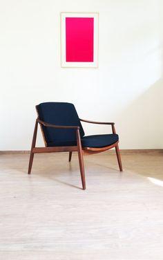 Sessel Lohmeyer Wilkhahn Teak 50er/60er vintage von MUCMODERN