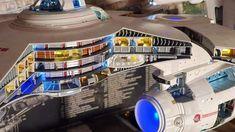 Star Trek Models, Star Trek Merchandise, Starfleet Ships, Spaceship Interior, World Of Tomorrow, Star Trek Starships, Star Trek Universe, Star Trek Ships, Sci Fi Fantasy