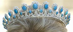 Princess Kelly of Saxe- Coburg- Gotha in the Turquoise and Diamond Tiara