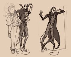 Good Omens fan art collection — ruushes: i may not have the 💸 💸 to watch. Good Omens Book, Fanart, Michael Sheen, Terry Pratchett, Fandoms, Angels And Demons, Crowley, Mascot Costumes, Twitter