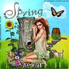 Aeval's Art: CT Tutorial for PTU Kit Springtime by Dance In The Rain