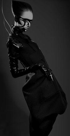 Missing Light, futuristic fashion, black clothes, future fashion