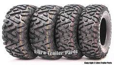 9. Set of 4 New WANDA ATV/UTV Tires from Wanda Cool Car Accessories, Accessories Online, Atv Wheels, Best Atv, Trailer Tires, 4 Wheelers, Atv Parts, Mud, Cool Cars