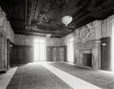 The Gilded Age Era: The William A. Clark Mansion, New York City  The Dining Room Was Practically A Small Banquet Hall, It Could Seat 75 People And Was Also Used As A Dance hall For Small Occasions