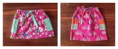 Harmony Drawstring Skirt Tutorial...cute for the little girls. (Suppose you could adjust the measurements to fit mommy too!)