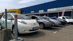 Le Nissan Electrique Tour : à la découverte de la gamme chez Ikea