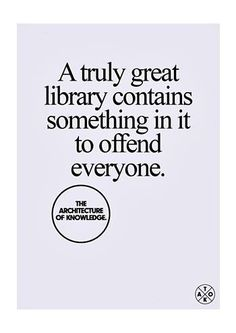 Library truth- we have this sign hanging at work
