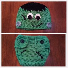 Butterfly's Creations: Frankenstein Beanies. FREE pattern for all sizes