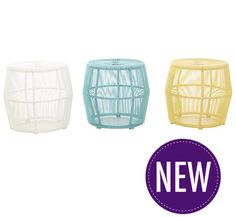 Grenadier Side Table available in 3 gorgeous colours!