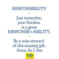 #AmazingGIFT #ResponseABILITY