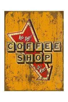 Whirlwind Coffee Shop Sign Replace Arrow with Whirlwind Graphic