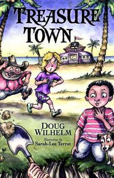 The first in a new series by a talented sibling duo to help kids transition into chapter books, Treasure Town is filled with hilarious characters, narrative illustrations, short chapters, and loads of fun! A lost pirate treasure, two confused gold diggers, and a trio of children who love history combine to wreak havoc on a Florida town. Interspersed throughout the story are bits of history and geography just right for inquisitive young minds! Visit to find out more!