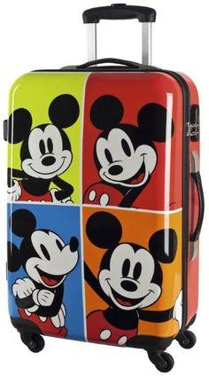 Bellissimo trolley da Viaggio Mickey Mouse con una ...