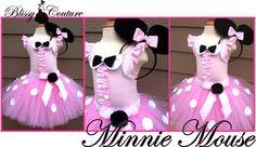 Minnie Mouse Tutu Set Halloween Costume by www.BlissyCouture.com