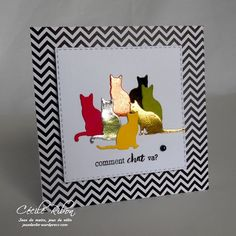 Little Scrap – L'inspiration d'Avril - Bonjour, bonjour, En avril sur Little Scrap, c'est presque « fais ce qu'il te plaît Cards Diy, Paper Cards, Pretty Cards, Cute Cards, Impression Obsession Cards, Holiday Cards, Christmas Cards, Diy Christmas, Karten Diy