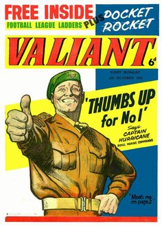Comics UK is dedicated to those great institutions, the British Comic and Story Paper dating back from the the late Victorian era through Beano to and beyond. Vintage Comics, Vintage Books, Childhood Toys, Childhood Memories, Comic Art, Comic Books, Children's Comics, Valiant Comics, Free Football