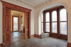 Brooklyn New York brownstone condo interior woodwork by techpro12, via Flickr