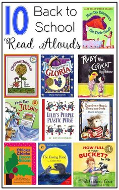 These back to school read alouds were favorites in my classroom! I love the tips this teacher provides for reading at the beginning of the school year, too!