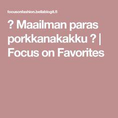 ♡ Maailman paras porkkanakakku ♡ | Focus on Favorites
