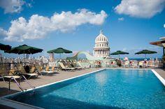 Vista del Capitolio de la Habana desde Saratoga Hotel