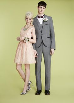 Skinny Grey Three Piece Suit, Topman SS13 Suits - Coming Soon