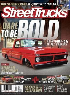 Street Trucks December 2015 digital magazine - Read the digital edition by Magzter on your iPad, iPhone, Android, Tablet Devices, Windows 8, PC, Mac and the Web.