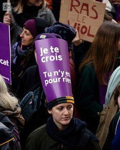 Je te crois tu ny est pour rien (I believe you its not your fault) 2019-11-23 Paris Marche #NousToutes STOP aux féminicides et à toutes les violences sexistes et sexuelles #feminicide #report #gaelic69