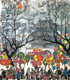 This is the Chinese painting I mentioned