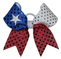 like the way the colors change Cute Cheer Bows, Dance Bows, Hair Accessories Holder, Bow Design, Dojo, Hairbows, Cute Hairstyles, Softball, Cheerleading