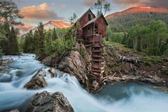 Crystal Mill Sunset by Romy Lee on 500px