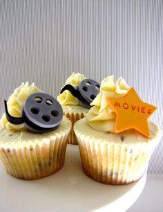 Movie theme cupcakes