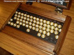 Very cool, but not in the budget: steampunk ipad case with bluetooth keyboard by etsy seller VictorianSteampunk