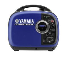 Yamaha EF2000iS portable inverter generator great for RV, boat owners and auto. Super quiet generator