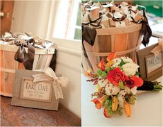 Nuts Wedding Favors