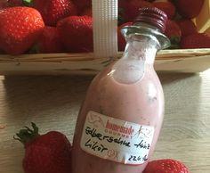 Rezept Erdbeersahne Minz Likör von PeBar - Rezept der Kategorie Getränke