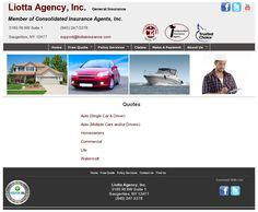Auto (Single Car & Driver)  Auto (Multiple Cars and/or Drivers)  Homeowners  Commercial  Life  Watercraft