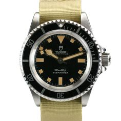 1970 Tudor Oyster Prince Submariner Ref 9411 Watch 9411 For Sale - Mens Vintage Time only Tudor Watch Sport Watches, Cool Watches, Wrist Watches, Tudor Submariner, Tactical Watch, Rolex Tudor, Nato Strap, Luxury Watches For Men, Beautiful Watches