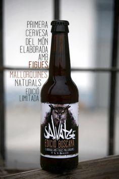 """Salvatge """"Edició Boscana"""" la primera cervesa del món amb figues fresques mallorquines."""