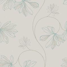 Jubileum L x W Espri Roll Wallpaper East Urban Home Colour: Beige/Green Metallic Wallpaper, Wallpaper Roll, Wall Wallpaper, Wallpaper Backgrounds, Flower Line Drawings, Buy Wallpaper Online, Sticky Back Plastic, Pip Studio