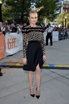 Diane Kruger in Valentino Couture, Toronto Film Festival, 2012