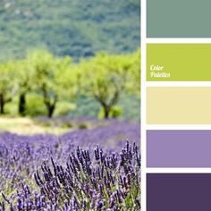 This Provence scheme is very appropriate when decorating the interior of a country house or if you prefer vintage and cute things and like the style of Pro.: