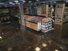 Check out how concrete staining turned this old commercial flooring into a stunning walking surface. Work with an expert concrete contractor. CALL (717) 245-2829 today.  Sundek of PA 1787 W Trindle Rd Carlisle, PA 17015 (717) 245-2829