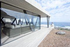 [건축] 바다와 집, 경계가 사라지다- 모던디자인의 칠레 바닷가 주택 Rambla House : 네이버 블로그