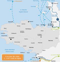 Bretagne à vélo 8 itinéraires sur vélo routes et voies vertes — France Vélo Tourisme - Itinéraires et parcours pour la randonnée à vélo