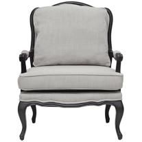 Antoinette Antiqued Classic French Accent Chair    $660
