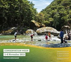 Conservation Week 2015 is just around the corner. There's plenty of events happening throughout the country, including a national geocaching challenge. Check out the events near you!