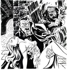Monsters by Bruce Timm