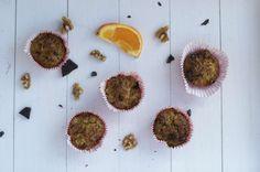 Gezonde havermout muffins met chocolade en sinaasappel een perfect gezond tussendoortje om altijd in huis te hebben voor visite of jezelf.