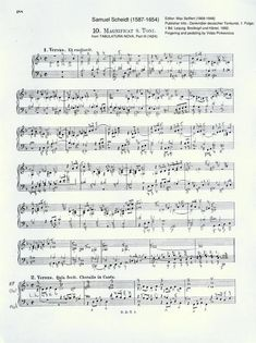 Magnificat Noni Toni by Samuel Scheidt from the Tabulatura Nova (1624) with fingering and pedaling for efficient practice and ideal articulation. What will you get? A PDF score with every finger and pedal written in delivered to your email inbox. Organ Music, Sheet Music, Nova, Finger, Pdf, Writing, Fingers, Being A Writer, Music Sheets