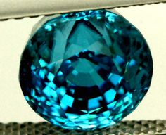 CERTIFIED ZIRCON CAMBODIA  4.07 CTS TBM-438  zircon gemstone